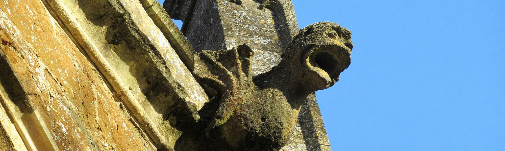 Gargoyle at St. Mary's Church, Bloxham