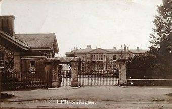 An old postcard of Littlemore Asylum