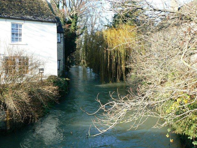 River Windrush at Bridge Street, Witney