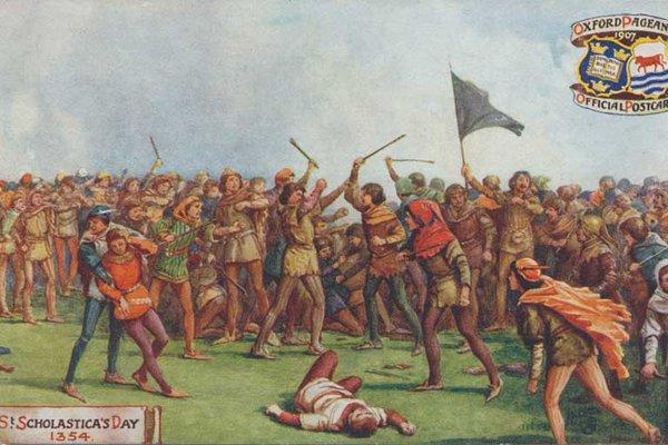 St Scholastica Day Riot