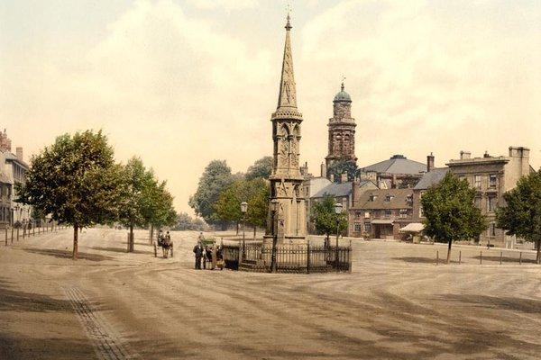 Banbury Cross and Horse Fair