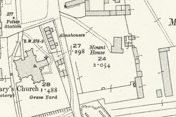 Site of the Bishop's Palace in Witney