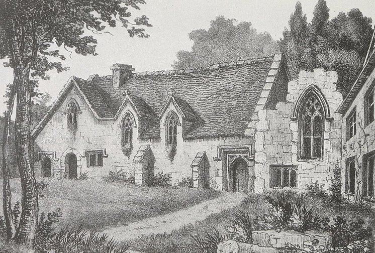 Illustration of Cumnor Place by Henry W. Taunt, 1907.