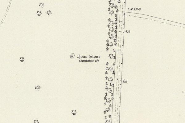 The Hoar Stone at Steeple Barton