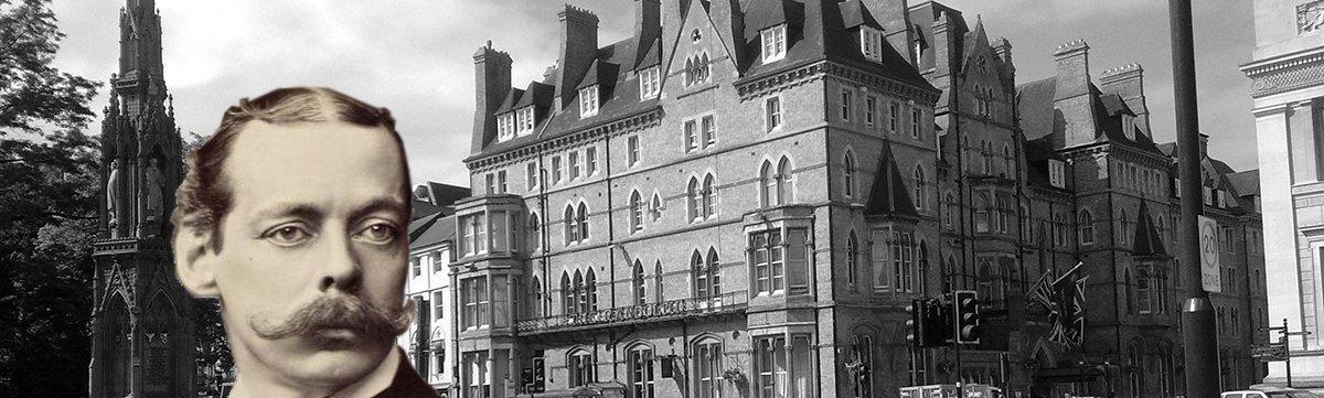 Lord Randolph Churchill and the Randolph Hotel