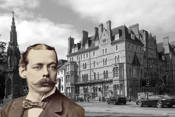 The Randolph Hotel and Lord Randolph Churchill