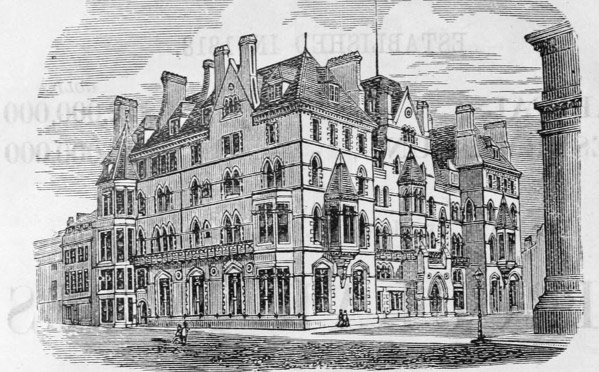 Illustration of the Randolph Hotel