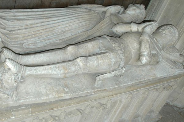 The Wilcote Tomb at St. Mary's Church, North Leigh