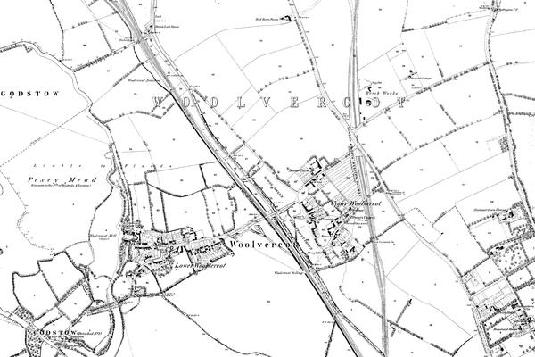 Wolvercote Map
